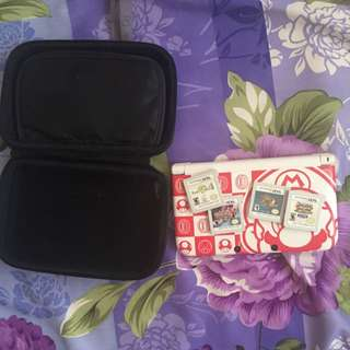 Nintendo 3dsxl fast deal 200$ with 4 game