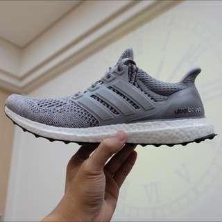 Adidas Ultra Boost M 羊毛灰