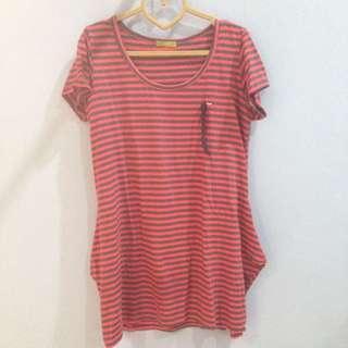 Long T Shirt Stripes