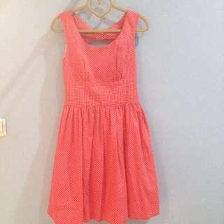 Polkadot Red Vintage Dress
