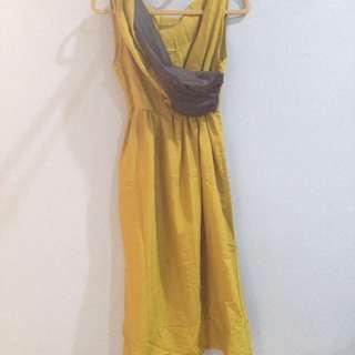 Preloved Mustard Dress