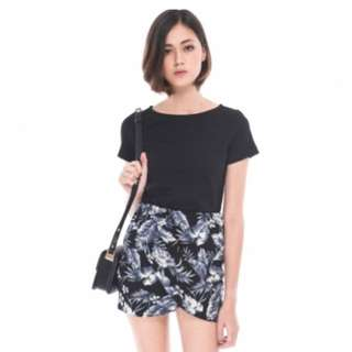 Runway Bandits RWB Aster Structured Tee In Black Size S