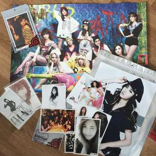 Girls' Generation posters & photo card