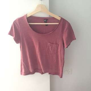 Cotton On Maroon Top Size: Small