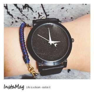 月亮星空伴著你手錶