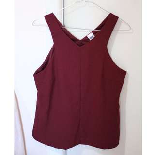 Gorgeous Maroon Top