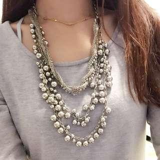 韓風多層串珠項鍊