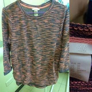 H&M 七分袖衫