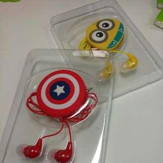 超可愛捲線器+耳機😍😍