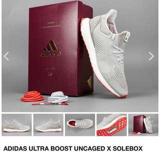 WTB Fast Deal Adidas Ultraboost X Solebox Uncaged S80338