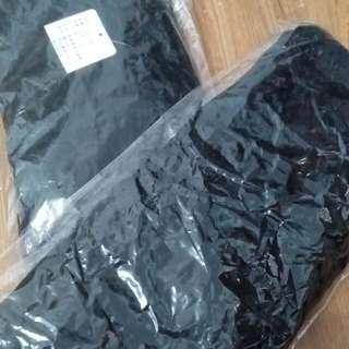黑色珊瑚絨內搭褲