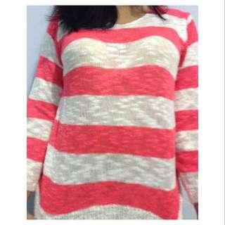 Knit Stripes Sweater