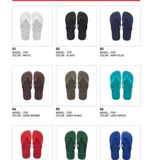 HAVAIANAS Clearance Top Colours