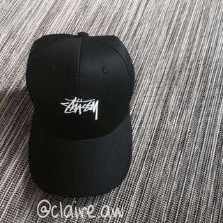 po//black stussy cap ⛄️