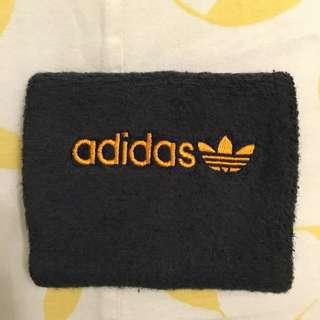 Adidas 護腕 運動 藍色