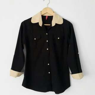 Cream X Black