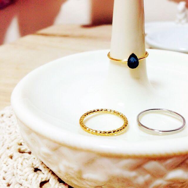 簡約戒指3枚組