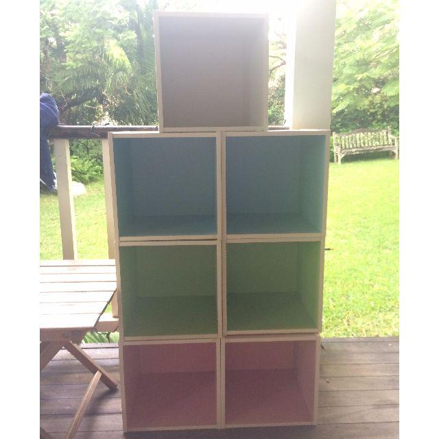 7 Cube Storage Units