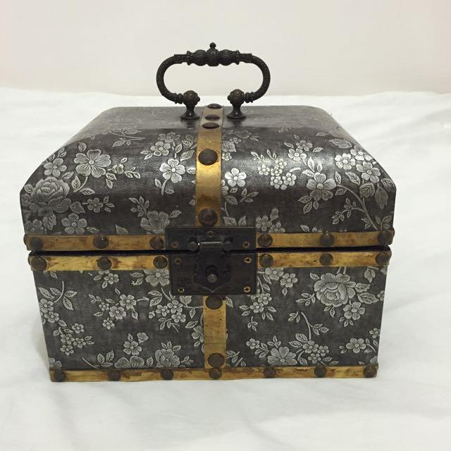 復古雕花珠寶盒/首飾盒