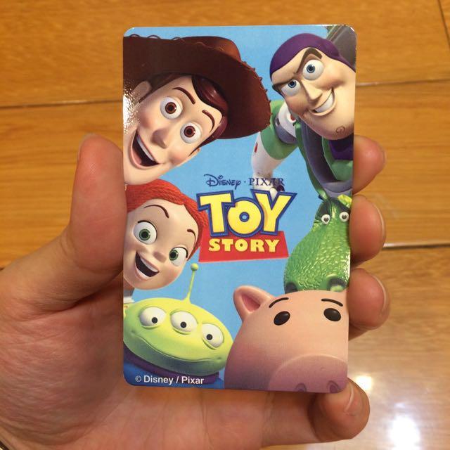 [非貼紙]玩具總動員悠遊卡+巴斯光年悠遊卡套