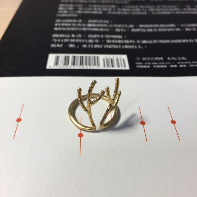 鹿角 戒指