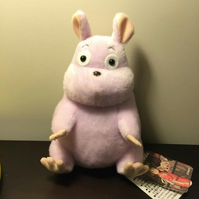 宮崎駿美術館周邊商品 神隱少女動畫裡的老鼠