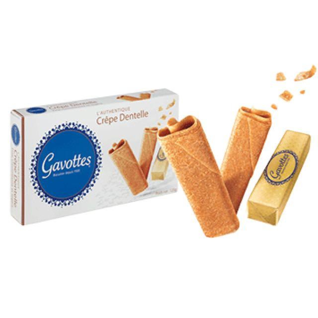 法國 Gavottes 💗 樂緹 法式薄餅捲(三種口味任選)