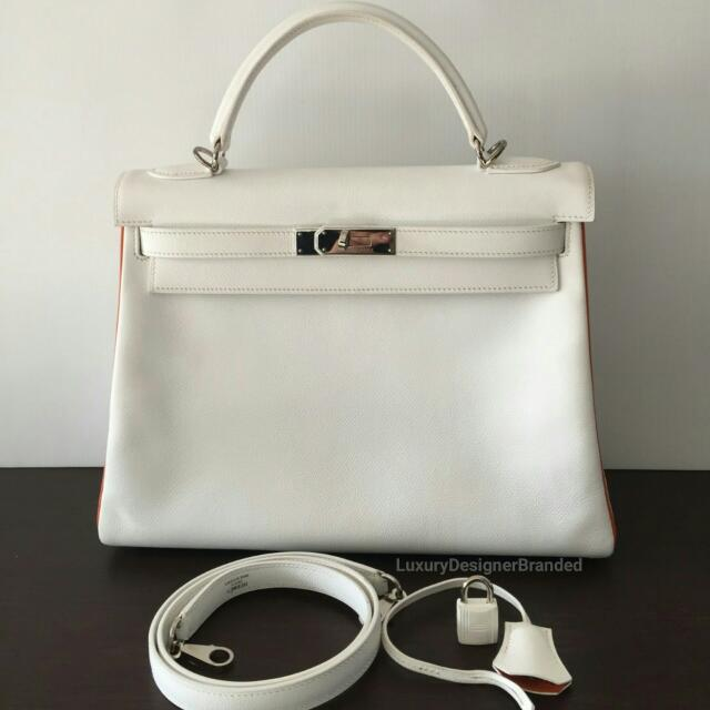 567d80657a2 Authentic HERMES Kelly 32 BiColor