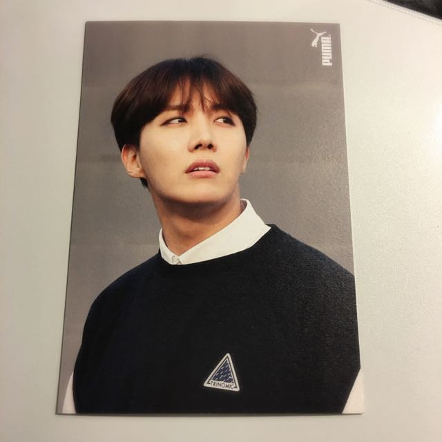 [BTS] J-Hope / Hoseok PUMA Photocard