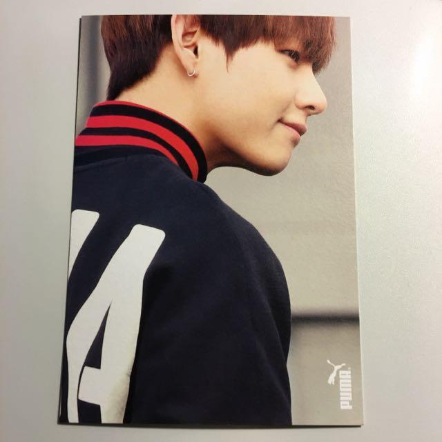 [BTS] V / Taehyung PUMA Photocard