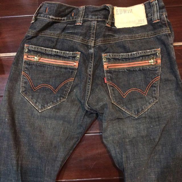 EDWIN 5th Street 牛仔褲 二手