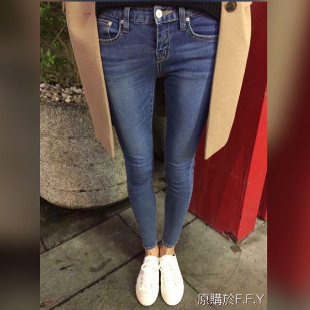 F.F.Y全素款百搭牛仔褲 28腰 (含運)
