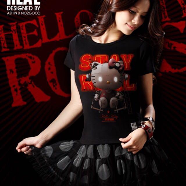 !!停售聯名款!!HELLO KITTY x STAYREAL Hello Kitty Robot 2.0(可議)