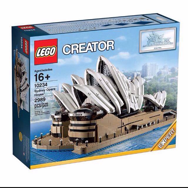 (reserved for Gnoc83) Lego Sydney Opera 10234
