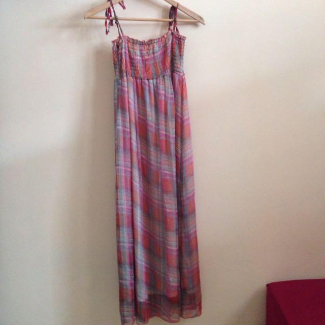 Long Dress Chiffon