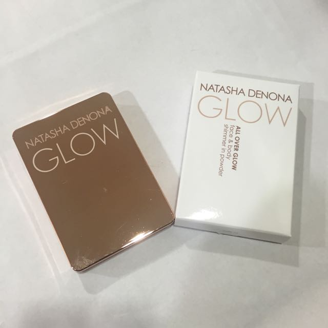 Natasha Deona All Over Glow Face & Body Shimmer in Powder 01 Light 打亮餅
