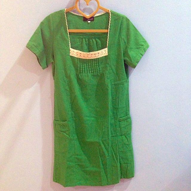 Preloved Gaudi Green Dress