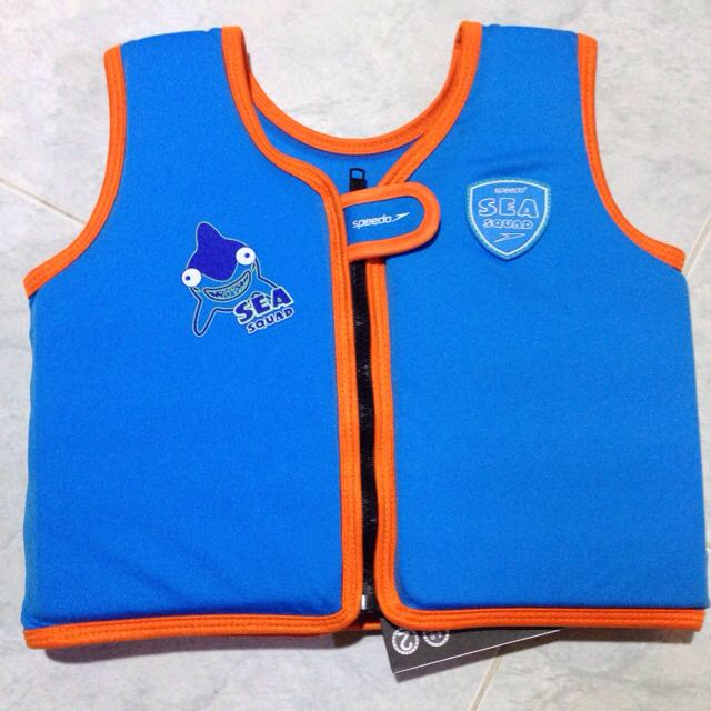 Speedo Squad Swimming Float Vest For Kids BNWT!!! 058256cc3