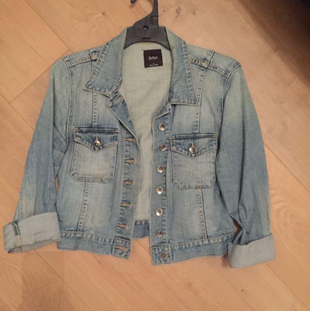 Sports Girl Denim Jacket Size 10