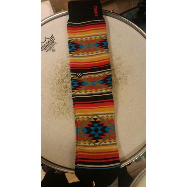 Stance Socks 幾何花紋