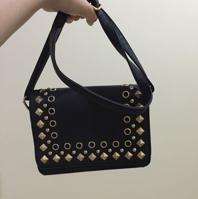 Zalora Studded Bag