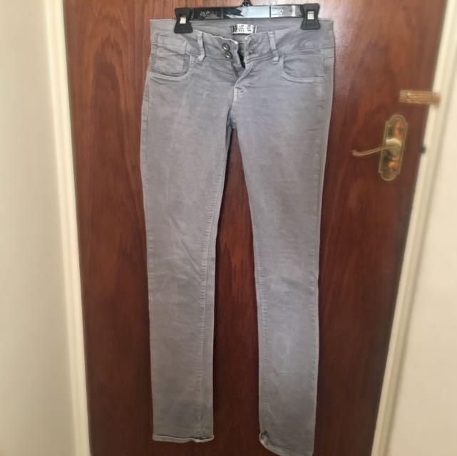 ZARA TRF grey Pants