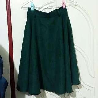 復古小圓裙