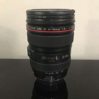 Canon Zoom Lens EF 24-105mm F/4 L IS USM