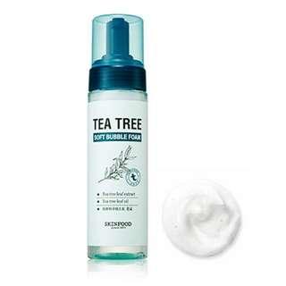 [Skin Food] 茶樹柔和泡沫洗面乳