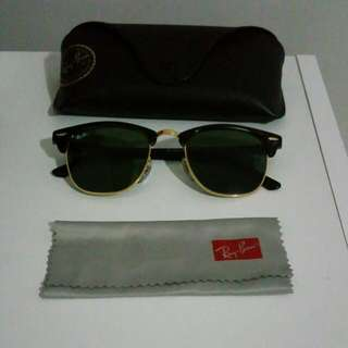 Ray-Ban Classic Clubmaster Sunglasses - Black