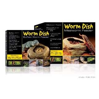 WORM DISH / MEALWORM FEEDER