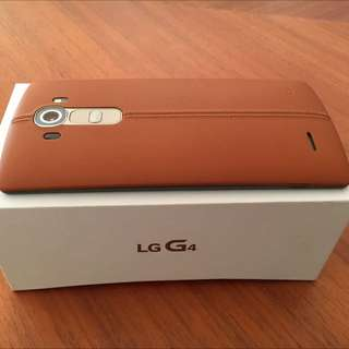 LG G4 Mobile Phone 32 GB Brown In Almost New Condition