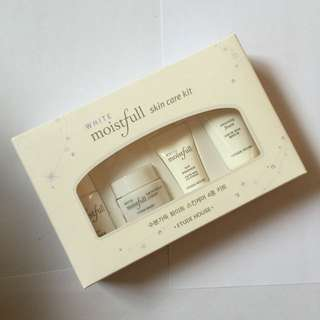 Etude House Moistfull White Skincare Kit
