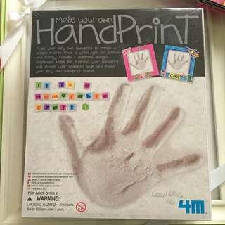 🚚 寶寶紀念物-自己動手作手印或腳印!!(石膏款)